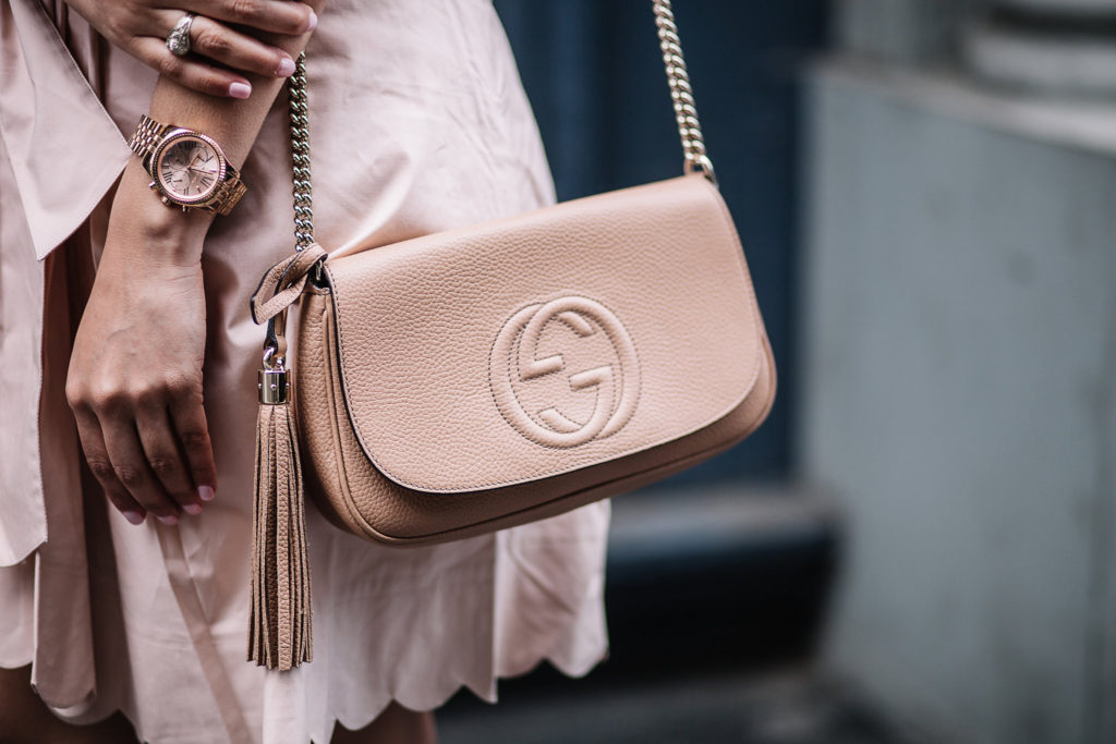 Tan Gucci Soho Bag