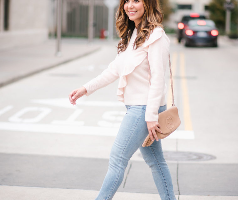 Light Pink Wool Sweater