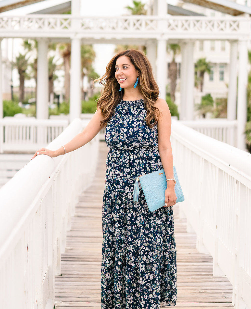 Floral Tiered Maxi Dress // The Hemliner